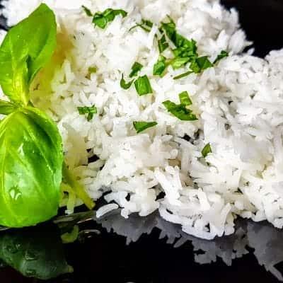 Пухкав бял ориз