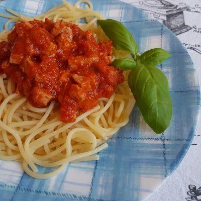 Спагети Болонезе с бекон