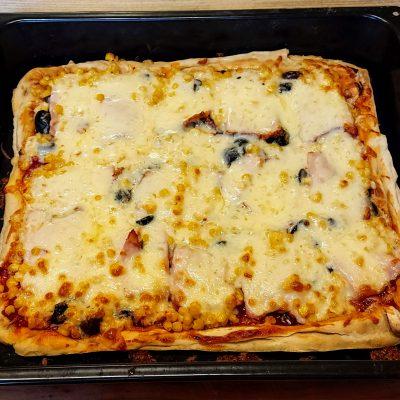 пица с готово тесто