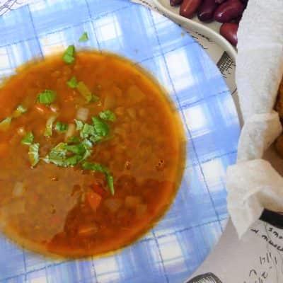 Супа от леща без запръжка