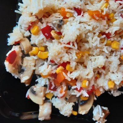 Ориз със зеленчуци