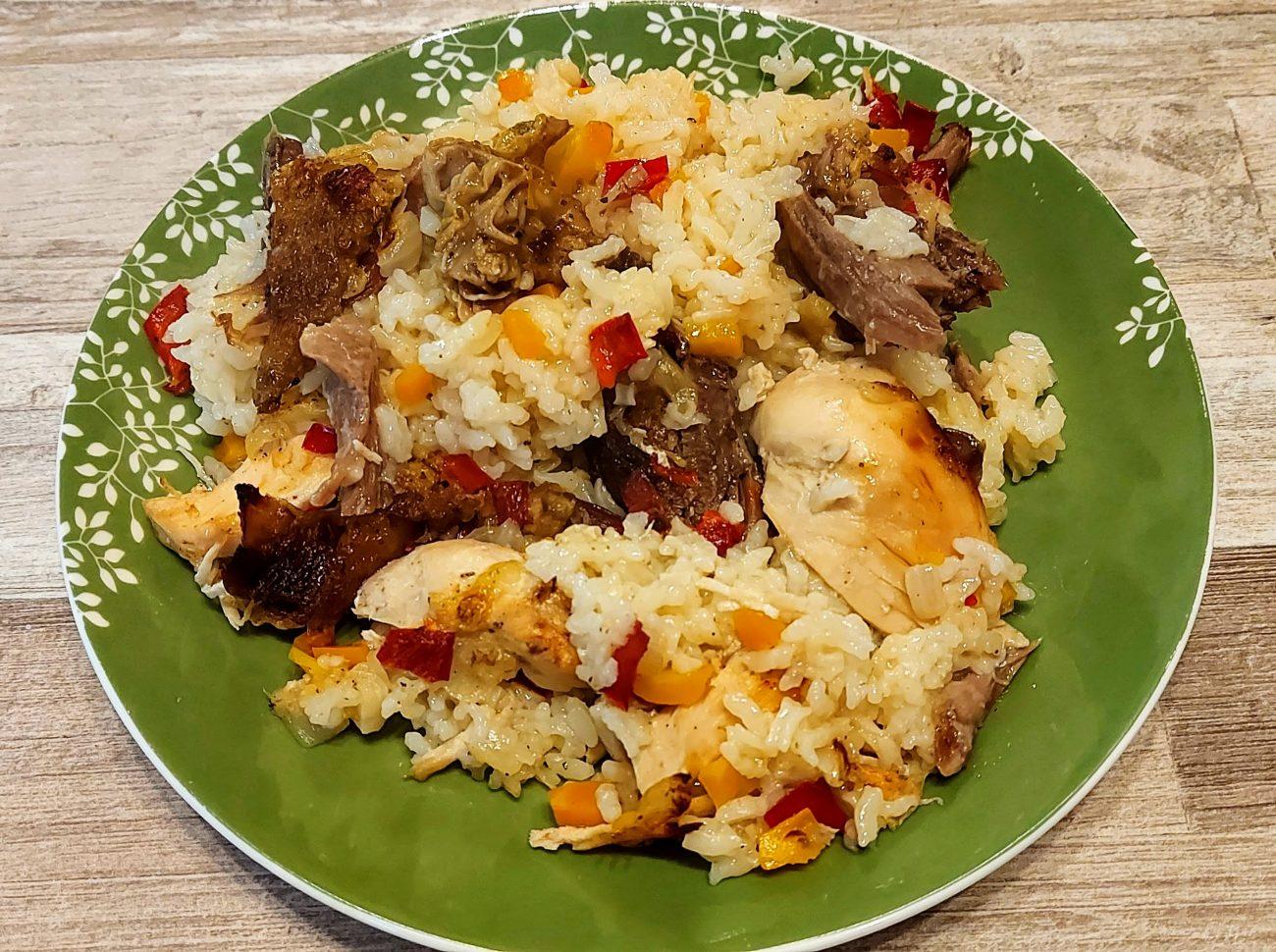 Домашно пиле с ориз по селски